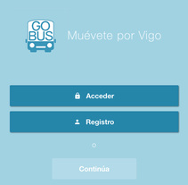 GoBus. A Software Development project by Ismael Serrano         - 19.01.2018