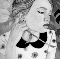 Mi Proyecto del curso: Introducción a la ilustración con tinta china. A Illustration project by rrlosiram         - 24.01.2018