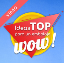 "Rajapack ""Ideas TOP para un embalaje WOW!"". Um projeto de Motion Graphics, Vídeo e   Stop Motion de Kay  Sebastián - 25-01-2018"