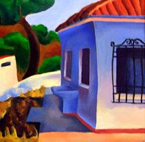 Verano 1998 (óleo sobre lienzo).. A Painting project by Carlos Vargas Gutiérrez         - 29.01.2018