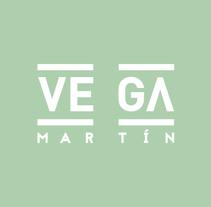 LOGO Vega Martín. Um projeto de Br e ing e Identidade de Carlos Vidriales Sánchez         - 30.01.2018