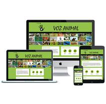 """Diseño de la web """"Voz Animal"""", en defensa de los animales. Un proyecto de Diseño, Informática y Diseño Web de Isabel Resinas Arias de Reyna - 13-01-2017"""