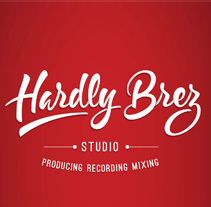 Hardly Brez Studio. A Lettering project by jaume osman granda - 01-02-2018