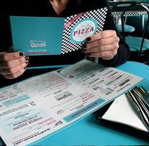 Cartas para restaurante El Americano. Un proyecto de Diseño editorial y Diseño gráfico de Laura Singular - 08-02-2018