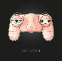 Homo Sapiens 4. A Illustration, Graphic Design, and Vector illustration project by Saray Rodríguez         - 20.02.2018