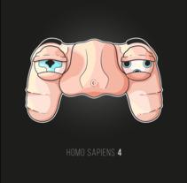 Homo Sapiens 4. Um projeto de Ilustração, Design gráfico e Ilustración vectorial de Saray Rodríguez         - 20.02.2018
