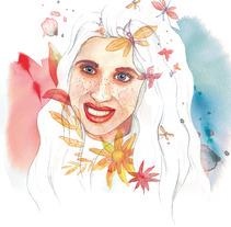 Retrato Sara, vuela. Un proyecto de Ilustración de Melania Peinado Gonzalo         - 20.02.2018