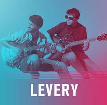 Levery: varias propuestas de portadas para entornos digitales. Un proyecto de Retoque digital de di_sonadora         - 28.02.2018