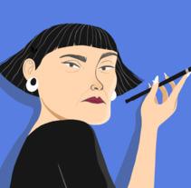 Señora. A Illustration project by grina_dg         - 03.01.2018