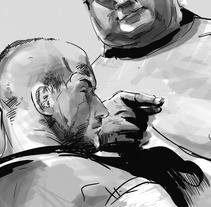Storyboard agencia: Pepsi allstars vs. Sumos. Um projeto de Ilustração de Manuel María López Luque         - 12.03.2018