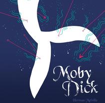 Moby Dick (Cover book). Um projeto de Ilustração e Design editorial de Fran Pulido         - 07.03.2018