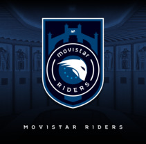Movistar Riders - ESEA MDL Conmemorative Crest. A Br, ing&Identit project by Diego Von Trier         - 07.03.2018