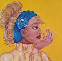 Feminity - serie sobre la mujer. Un proyecto de Ilustración, Bellas Artes y Pintura de Tània Salinas Quiles         - 10.03.2018