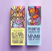 Oda al gato / Pablo Neruda. Um projeto de Ilustração de Betsy Amparán         - 11.03.2018