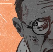 ¡Sartre cabrón!. A Illustration project by ʝ. NEZNA         - 19.03.2018