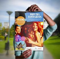 Afiches. Campaña publicitaria de turismo. Um projeto de Design, Publicidade e Design gráfico de María Paz Pagnossin         - 04.04.2018