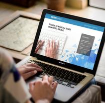 Landing Page. Agencia Metromedios. Um projeto de Design gráfico e Desenvolvimento Web de María Paz Pagnossin         - 04.04.2018
