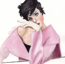 Watercolor. Un proyecto de Diseño, Ilustración y Moda de Rosa García         - 07.04.2018