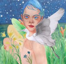 Mi Proyecto del curso: Retrato ilustrado en acuarela. Um projeto de Artes plásticas de Ara Arts         - 19.04.2018