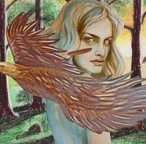 Mi Proyecto del curso: Retrato ilustrado en acuarela. Nuevo proyecto. Um projeto de Artes plásticas de Ara Arts         - 19.04.2018